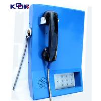 Quality 110 120 119 Auto Dial Emergency Phone , Blue Wall Mounting Telephone for sale