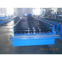 China Big Wave Corrugated Roof Panel Sheet Roll Forming Machine Galvanised 3.5KW on sale