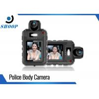 360 Degree Rotate Small Police Wearing Body Cameras 1080P With 6 IR Light