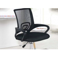 Quality Metal Base Fixed Armrest Mechanism Office Swivel Chair for sale