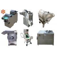 Quality High Efficiency Vegetable Cube Cutting Machine Yam Cutting Machine Energy Saving for sale
