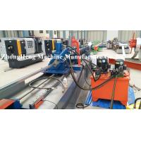 Buy cheap Gear transmit metal roll forming machine for 0.4mm thickness Angle profile with rib from wholesalers
