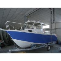 Quality Small Aluminum Fishing Boats With Center Console , 3 Years Warranty for sale