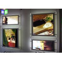 Quality Super Thin 4 MM Indoor Acrylic Light Box Display Wall Mounting House Decoration for sale
