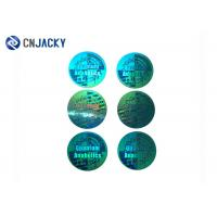 Quality Tamper Evident Holographic Label / Custom Security Hologram VOID Sticker for sale