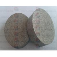 Quality powder Sintered Porous Metal Media disc in Titanium or Stainless Steel for sale