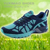 Quality new model brand running shoes sneakers for male, men fly fabric sport shoes running good quality for sale