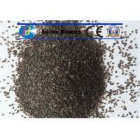 Quality Grit Brown Sand Blast Media High Cycle Index Aluminum Oxide 9.0 Mohs Hardness for sale