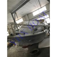 6.5m Steering Console Aluminum Boat For Fishing / Water Sport , CE Approved