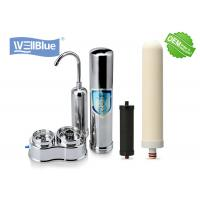 Quality Kitchen Two Stages Countertop Water Filtration System High Grade Faucet Mounted for sale