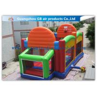 China Outdoor Childrens Bouncy Castle Court ,  Inflatable Sports Arena Trampoline on sale