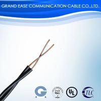 Quality Two Core Bare Copper Telephone Cable , Indoor Telephone Wire PE PVC Jacket for sale