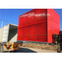Quality Longlife Temporary Welded Mesh Fence Colourful Powder Coated Canada Standard for sale