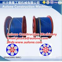 Quality Dragline ropes,dragline plastic coated wire ropes for sale