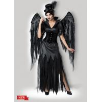 Quality Midnight Raven 1138 Black Party Adult Costumes , Sexy Carnival Cosplay Halloween Costume for sale
