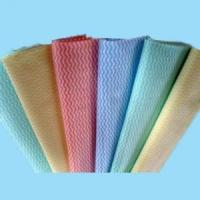 Quality cross lapping spunlace nonwoven fabric for household/kitchen cleaning wipes for sale