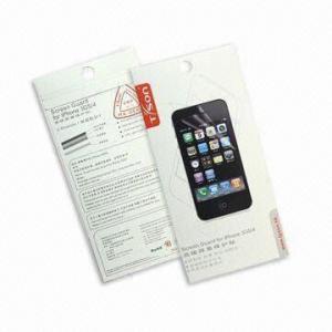 China Anti-glare, Anti-fingerprint Screen Protector for Apple's iPhone 4 on sale