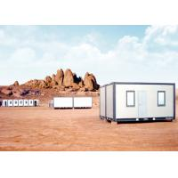 Quality Small Moving Modified Shipping Containers Homes With Pillars And Two Windows for sale