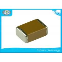 Quality Low Frequency Multilayer Ceramic Capacitor X7R X5R SMT / Chip MLCC Capacitor for sale