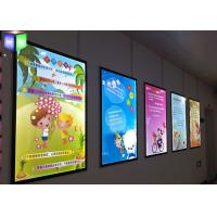 Quality Super Slim 15 mm LED Advertising Light Box Wall Acrylic Magnetic Photo Frame for sale