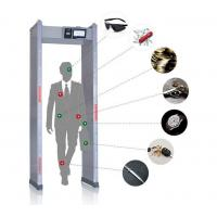 Buy cheap Touch Screen Walk Through Metal Detector Door Frame For Defender / Public / from wholesalers