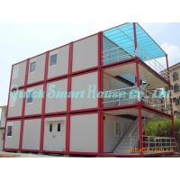 Quality Three Floor Prefab Container House , Steel Shipping Container Homes for sale