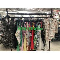 China Silk Material  Used Fashion Clothing / Washable Silk Blouses For Ladies on sale