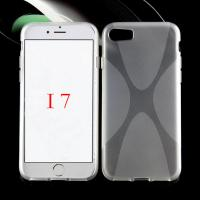 Buy X line tpu cover case for Apple iphone 7 crystal X type tpu phone case for at wholesale prices