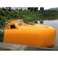 Quality New price enclosed life/recsue boat and davit hot sales for sale