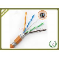 Quality High Frequency Network Fiber Cable 250MHz Orange Color With Pure Copper Material for sale