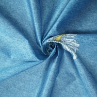 Buy cheap Sky Blue 43D Jacquard Knitted Fabric 210cm-220cm Adjustable width from wholesalers