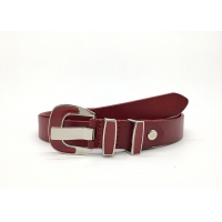 China Customized Cowhide 2.5cm Lady Genuine Leather Belt on sale