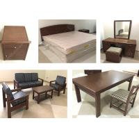 Quality Wooden Durable Classical Apartment Furniture Sets Environment - Friendly High Grade for sale