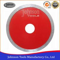Quality Johnsontools Sintered Diamond Ceramic Tile Saw Blades No Chipping for sale