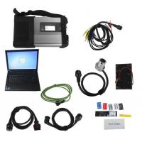 V2017.07 MB SD Connect C5/ C4 Star Diagnosis Plus Lenovo T410 Laptop With DTS and Vediamo Engineering Software benz star