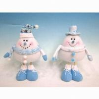 10-inch Christmas Snowman Standing Decoration