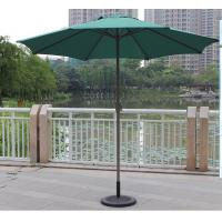 Quality Non - tilted Outdoor Patio Umbrellas With Straight Stand / Heat Transfer Printing OEM for sale