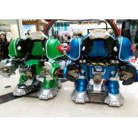 Quality Walking Robot Shape Kiddie Bumper Cars Customized Color For Shopping Mall for sale