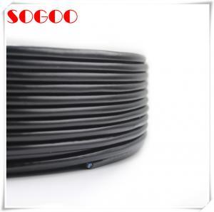 DC RRU Outdoor Electrical Cable Precision Black Color For ZTE Remote Radio Unit