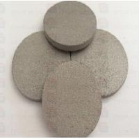 Quality Gr1 Gr2 Titanium Powder Sintered Porous Metal Disk for Oil Filtration fitow for sale