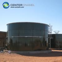Quality Glass - Fused - To - Steel Bolted Industrial Water Tanks Anti - Adhesion for sale