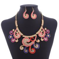 China Popular diamond alloy beads necklace clavicle chain branches  Necklaces MD-1439 on sale