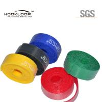 Buy Beautiful Colored Hook And Loop Fastening Tape Adhesive  Sticky Tape Flame Retardant at wholesale prices