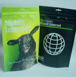 Quality Retort Reseal Pet Food Aluminum Foil Packaging Bags For Dry Pet Food for sale