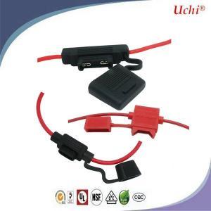 Quality Uk Plug Automotive Auto Blade Fuse Car Blade FuAse Holder N Nickel Plating for sale