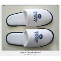 Quality Cheap disposable hotel slippers with Customized logo for sale