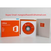 China Original Office 2016 Professional License Key , Office 2016 Pro Plus DVD Packing Box on sale