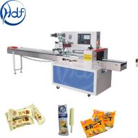Quality Candy Pillow Pouch Packaging Machine , Stationary Food Box Packaging Machine for sale