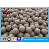 Quality 30mm hot rolling steel balls , ball mill grinding media Hardness HRC 60-68 for sale
