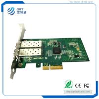 Quality PCIe 1Gb dual Port Server Adapter Fiber Optic Network Card with Intel I350 Ethernet Controller for sale